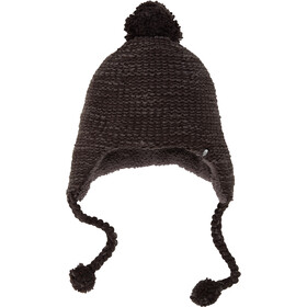The North Face Fuzzy Earflap Beanie TNF Black/Asphalt Grey